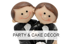 Party and Cake Decor